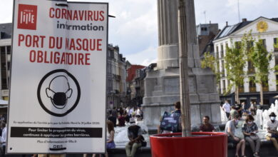 Photo of La Flandre passe au rouge, le coronavirus circule désormais « activement »